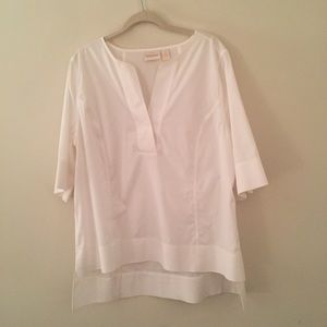 Preview - Chico's white blouse size 3